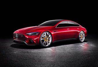 Mercedes-AMG GT Concept : l'anti-Panamera #1