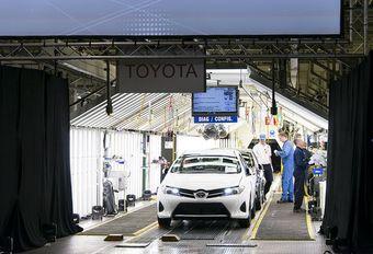 Toyota hésite à produire sa prochaine Auris en Grande-Bretagne… #1