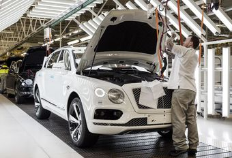 Bentley-productie in Engeland onzeker #1