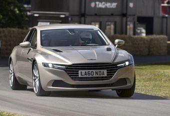Aston Martin: Lagonda-gamma als concurrentie voor Bentley en Rolls? #1