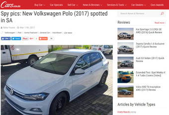 Volkswagen Polo : surprise, sans maquillage ! #1