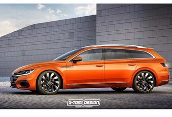 Volkswagen envisage une Arteon Shooting Brake #1