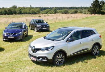 De plus en plus de SUV en Europe #1