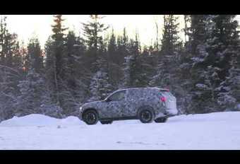 BMW : première sortie pour le futur X5 #1