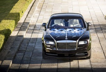 Rolls-Royce Wraith en hommage au rock #1