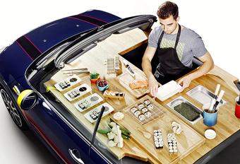 Echte wereldpremière: Mini Cabrio met ingebouwde keuken! #1