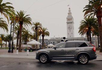 Test Uber d'autos autonomes : programme en danger #1