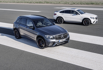Mercedes-AMG GLC 63 4Matic+, met een V8 in de neus #1