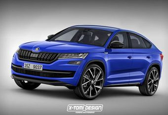 Škoda Kodiaq Coupé : X-Tomi l'imagine déjà...  #1