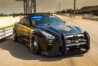 Nissan Copzilla : GT-R de police #1