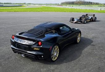 Lotus Evora Sport 410 in legendarische JPS-kleuren #1
