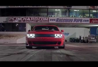 Dodge Challenger SRT Demon: gewoonweg hallucinant #1