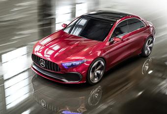 Mercedes Concept A Sedan is eersteling van nieuw gamma #1