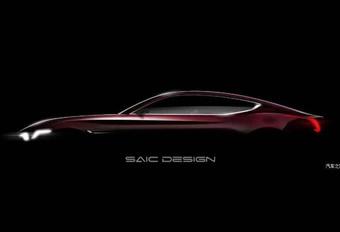 MG : Un concept de coupé électrique à Shanghai #1