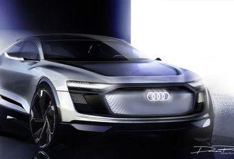 Audi e-tron Sportback Concept : les esquisses #1