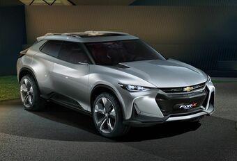 Chevrolet FNR-X Concept is een sportieve SUV #1