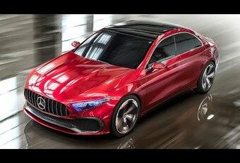 Mercedes Concept A Sedan : un avant-goût de Classe A ?  #1