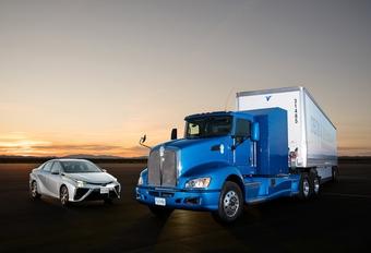 Toyota Portal, een ecologisch verantwoorde vrachtwagen #1