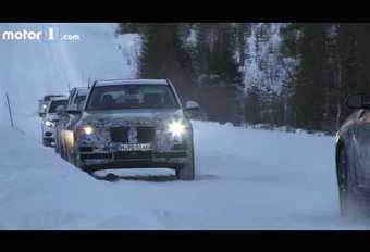 VIDÉO - BMW : séance de glisse pour les futurs X5   #1