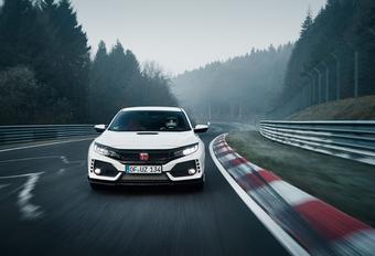Nieuwe Honda Civic Type R weer snelste op de Nordschleife + VIDEO #1