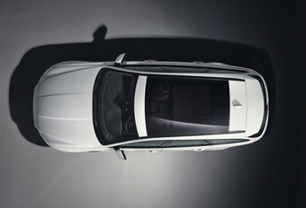 Jaguar XF Sportbrake: eerste zicht van bovenaf #1