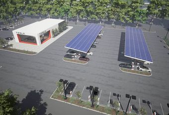 Tesla verdubbelt aantal Superchargers #1