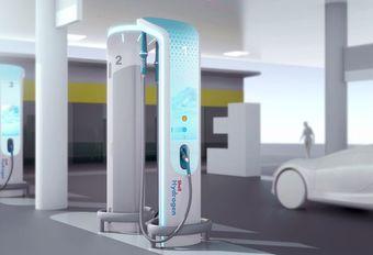 BMW en Shell ontwerpen het waterstoftankstation van de toekomst #1