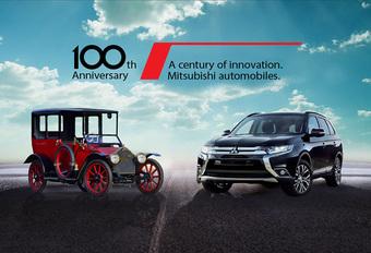 Mitsubishi Model A krijgt plug-inhybride aandrijflijn Outlander PHEV #1