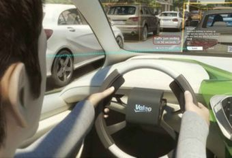 Valeo : un Range autonome dans Paris #1