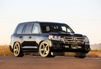 Toyota Land Speed Cruiser : 370 km/h, record battu #1