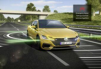 Volkswagen Arteon : arrêt d'urgence automatique #1