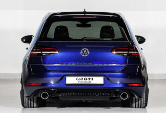 VW Golf GTI First Decade Concept heeft RWD #1