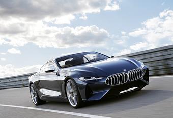 Concept 8 gaat BMW 8 Reeks vooraf