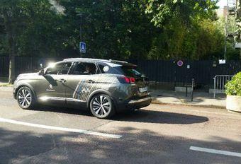 Peugeot 3008 autonome à Roland Garros #1
