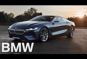 BMW Série 8 en mouvement #1