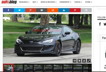 Subaru : une BRZ STI se précise…  #1