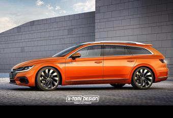 Lijnenspel VW Arteon smeekt om Variant #1