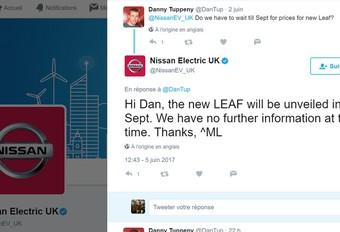 Nissan: Leaf komt in september #1