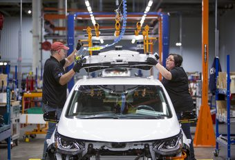 Chevrolet : des Bolt autonomes produites à la chaîne #1