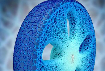 Michelin: un pneu 3D qui dure toute la vie de la voiture #1