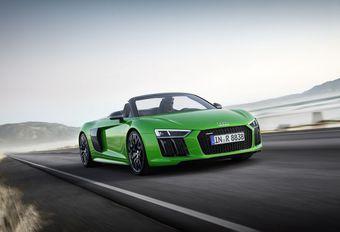 Audi R8 Spyder V10 Plus: 0 naar 100 km/h in 3,3 seconden #1