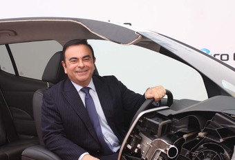 Carlos Ghosn prijst Elon Musk #1