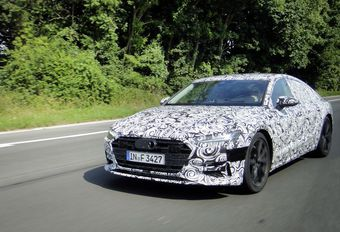 Future Audi A7 surprise en Belgique #1