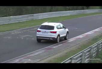 VIDEO Seat Ateca Cupra in topvorm op de Nürburgring #1