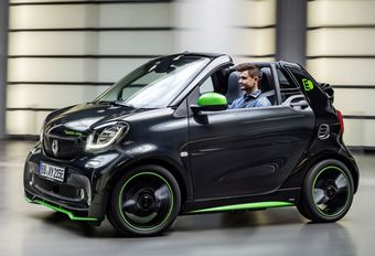 Smart Fortwo Cabrio wordt elektrisch #1