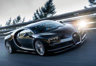 Bugatti Chiron : 500 km/h avec les bons pneus #1