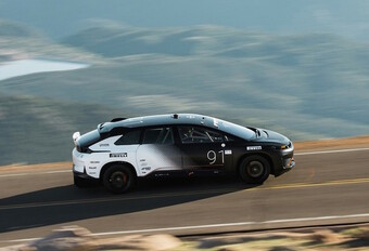 Faraday Future : record électrique à Pikes Peak #1