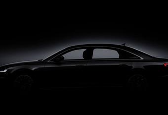Audi toont nog een beetje meer nieuwe A8 #1