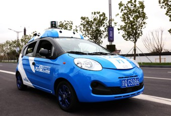 Le chinois Baidu outsider de Waymo en conduite autonome #1