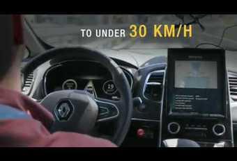 Voiture autonome : Renault teste les péages et les travaux #1